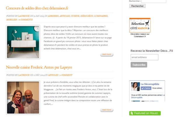 Blog La Decorruptible