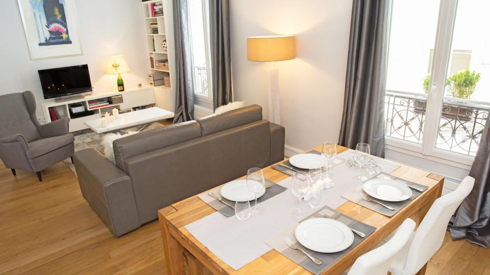 Appartement familial à Levallois Perret par Laurence Garrisson