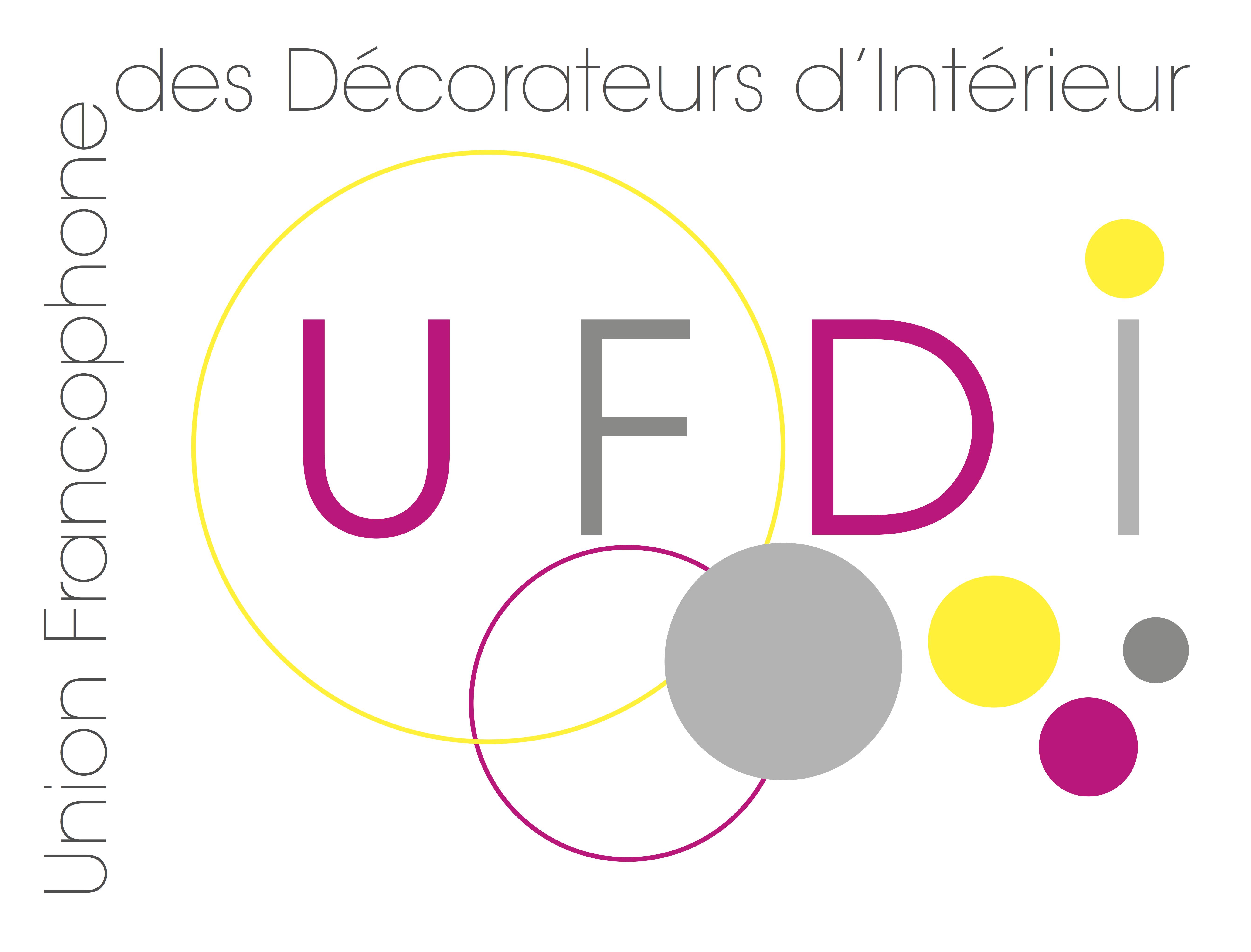 Logo UFDI Union Francophone des Décorateurs d'Intérieur