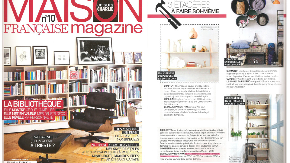 Conseil laurence garrisson for Maison francaise magazine abonnement