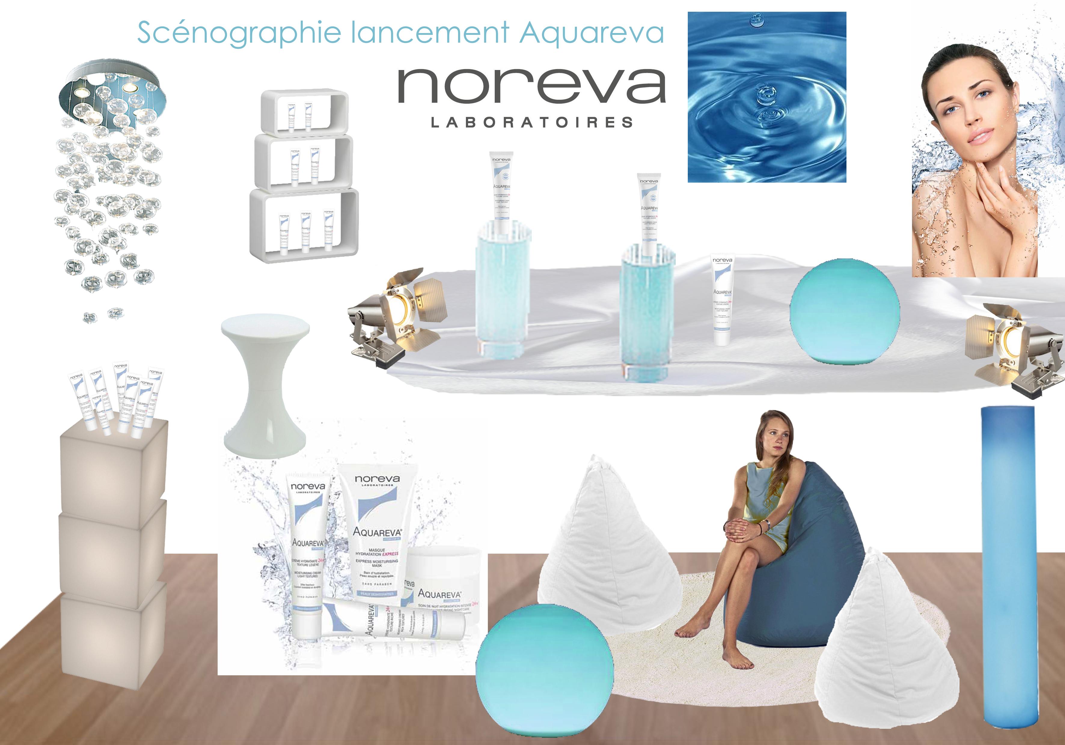 Planche projet lancement Aquareva Noreva